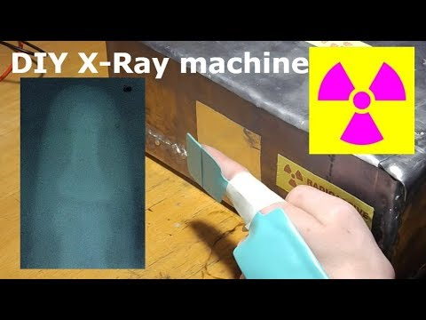 Working DIY X-Ray Machine