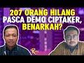207 Orang Hilang Pasca Demo UU Cipta Kerja Omnibus Law, Benarkah? - ROSI