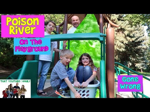 POISON RIVER AT THE PARK / That YouTub3 Family