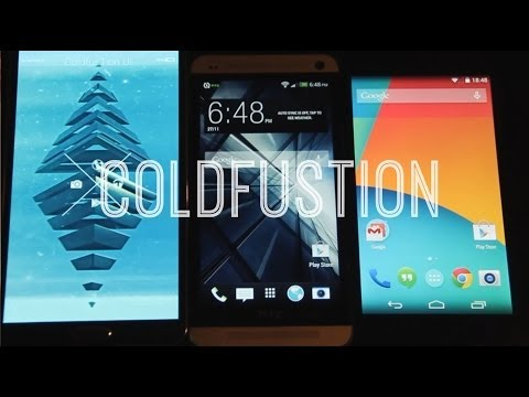 Nexus 5 Vs Note 3 Vs HTC ONE [Quick Look]