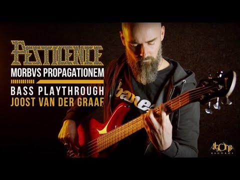 "PESTILENCE   Joost van der Graaf   ""Morbvs Propagationem"" (Official Bass Playthrough)"