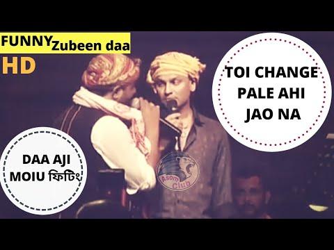 Barikhare Banot-Zubeen&Babu||Live Bihu Performance 2018||Funny Zubeen||New assamese Song
