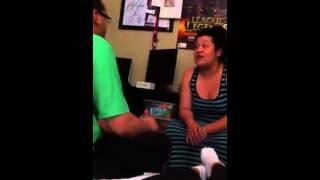 Boyfriend arguing with girlfriend