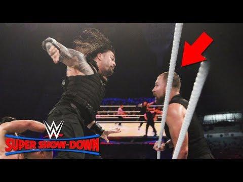 Did Dean Ambrose Turn Heel At WWE Super ShowDown 2018 | All Winners Revealed