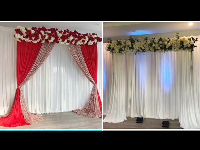 DIY- How to Use Wood For Floral Arrangements Diy- Wedding Decor Diy- Floral backdrop