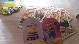 Розпакування ще 40 карток з колекції Гидке Я 3! Акція М-Магніт на Гидке Я 3