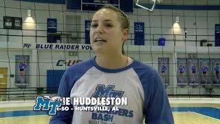 Volleyball vs Rice & WKU Highlight