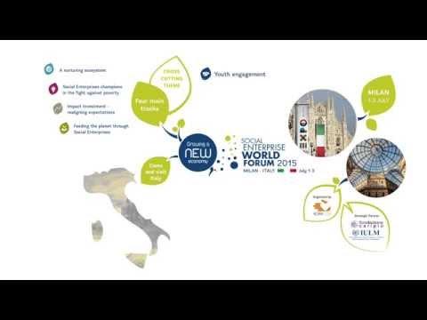 Social Enterprise World Forum 2015 in Milan