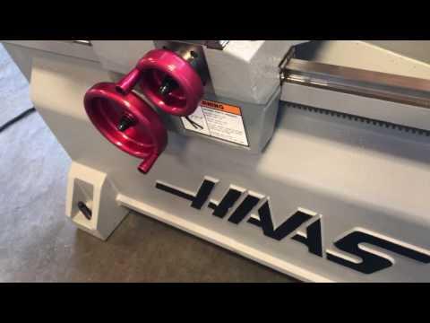 20″ X 48″ USED HAAS CNC TOOLROOM LATHE, MDL. TL-2,  A4859
