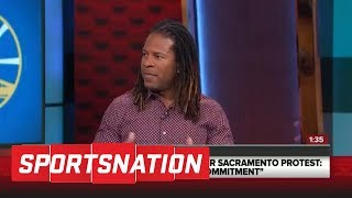 LZ Granderson: NBA gets it right over NFL on social issues | Sportsnation | ESPN
