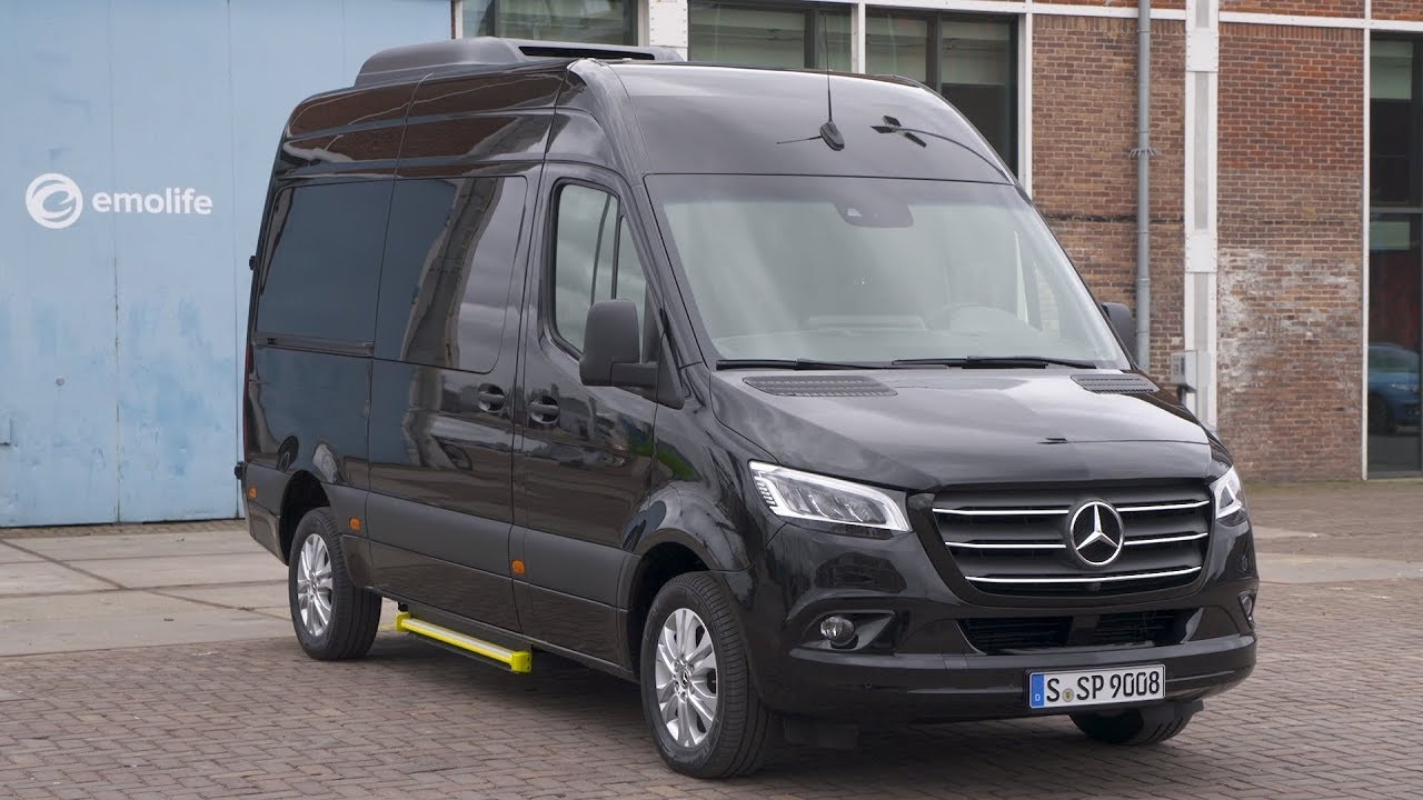 2018 mercedes benz sprinter 319 cdi tourer obsidian black metallic youtube. Black Bedroom Furniture Sets. Home Design Ideas
