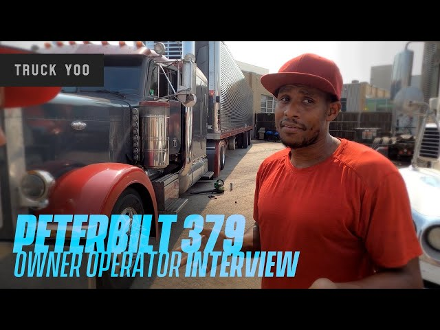 Peterbilt 379 Owner Operator Interview. 9 years in trucking.