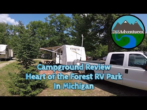 michigan campgrounds full hookup