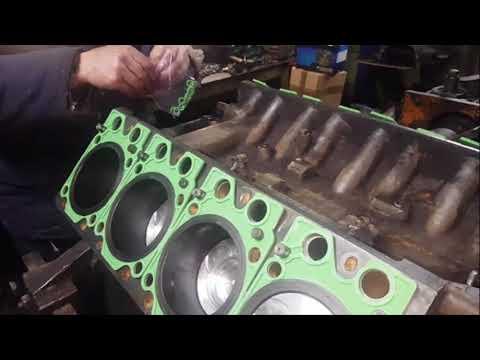 Сборка двигателя камаз 740 своими руками видео