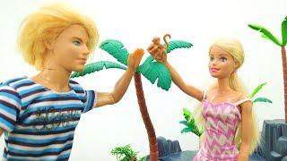 Приключения Барби и Кена на необитаемом острове. Мультики с куклами