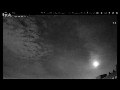 18 WEBCAM Cazadores de Ovnis - Ovinis , Objetos Voladores Infrarojos No Identificado