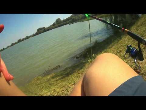 Рыбалка на Нефтекумском водохранилище.