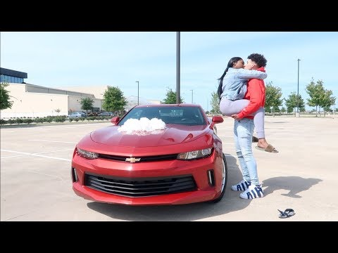 SURPRISING MY BOYFRIEND  WITH HIS DREAM CAR!!!