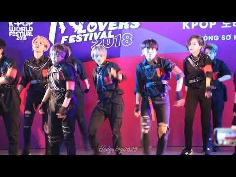 [180421] The A-code @Kpop Lovers Festival 2018 (H focus)