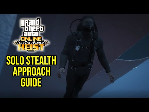 GTA Online: How To Finish The Cayo Perico Heist Finale - Solo Stealth Guide