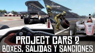 Project CARS 2 || Paradas en box, salidas y sanciones (JUEGO EN DESARROLLO)