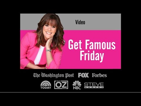 Get Famous Friday PR Tip - Video