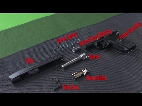Remington R51 Pistol Strip & Reassembly