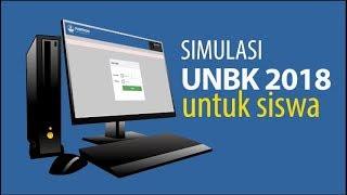 Gambar cover Simulasi UNBK SMP Tahun 2018