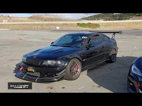 1:41 Lap Time @ Laguna Seca - BMW E46 M3