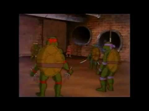 Ninja Turtles Origin Story from 1987 Ep 01