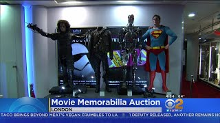Iconic Hollywood Props Go Up For Auction In London