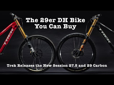 NEW TREK DOWNHILL BIKES! Trek Session 29 & 27.5 Carbon
