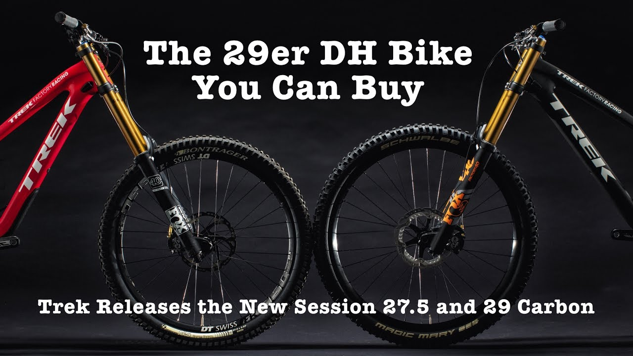 0aa7acc570d NEW TREK DOWNHILL BIKES! Trek Session 29 & 27.5 Carbon - YouTube