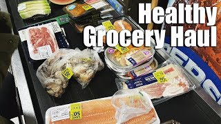 How to Grocery Haul Healthy Meat & Seafood Cheap! VLOG