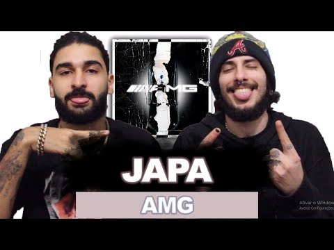 JAPA - AMG (OFFICIAL AUDIO) | REACT / ANÁLISE VERSATIL thumbnail