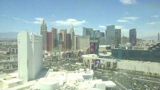 Unique Otis Scenic Elevators - Tropicana Club Tower - Las Vegas, Nevada