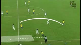 UEFA-B-Analyse Clip - Bewegung in weiten Bereichen um Platz zu schaffen, über