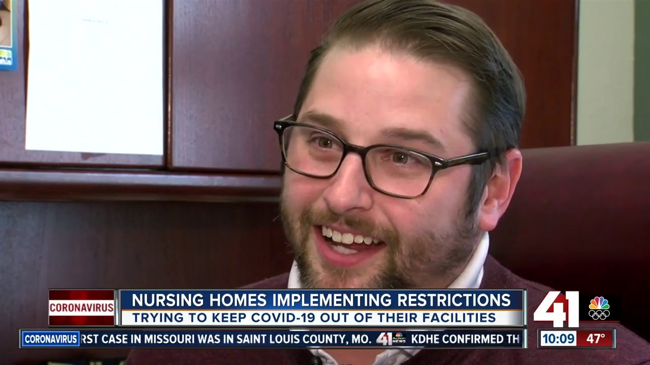 Kansas City area nursing homes ask visitors to stay away - YouTube