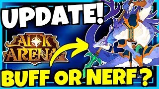 NEW UPDATE   PATCH 1.41.01!! [AFK ARENA]