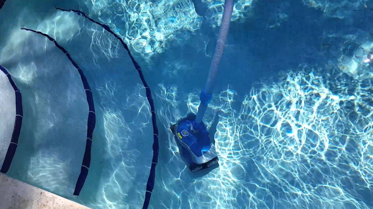 Zodiac Mx6 Automatic Pool Cleaner In Action Youtube
