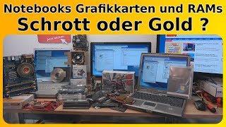 Notebooks Laptops Grafikkarten und RAMs 🤔 Schrott oder Gold?