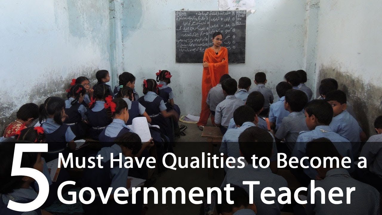 how to become a government teacher