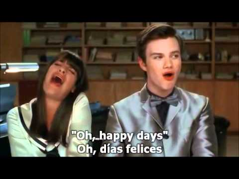 Glee - Get Happy, Happy Days Are Here Again