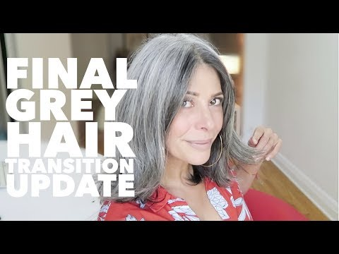 FINAL grey hair update| Rocking Fashion & Life in my 50's