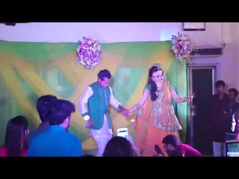 Mushfiqur Rahim and his wife dancing together in his wedding at Bogra