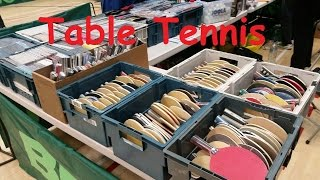 Rubber Blade Table Tennis - Tenis Stołowy