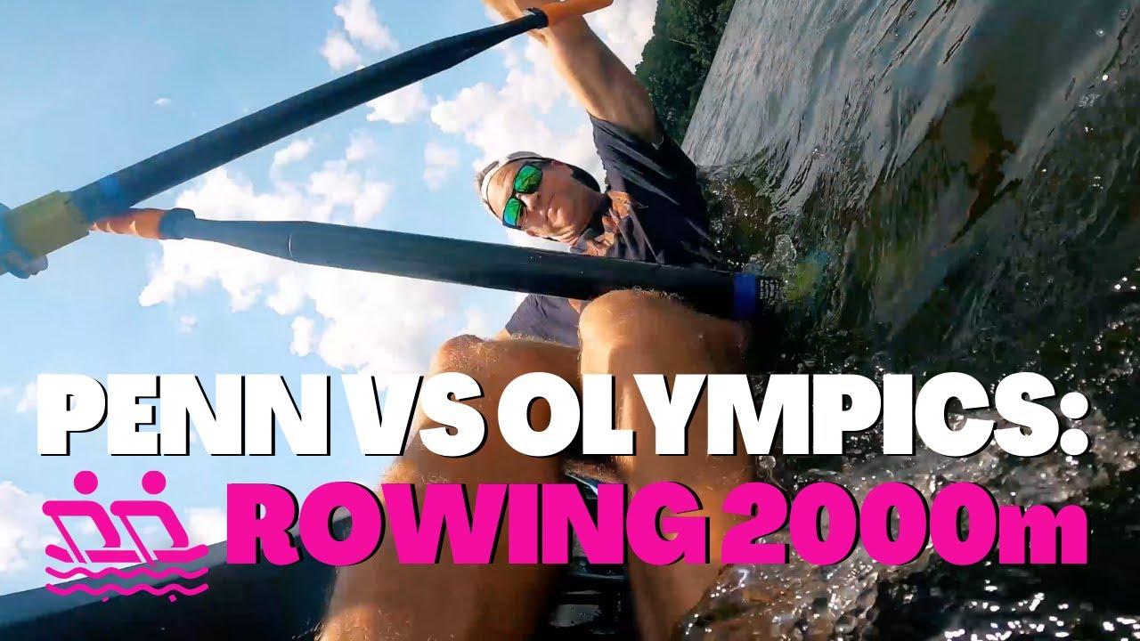 Penn and Kim vs. Olympics: Rowing 2000m