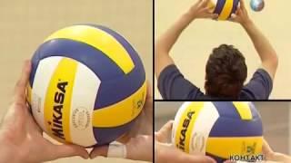 Видео как играть в волейбол Урок 3 Передача