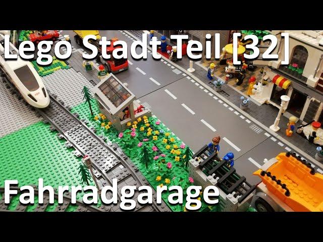 Lego Stadt Teil [32] - Ausgestaltung neben der Zugstrecke