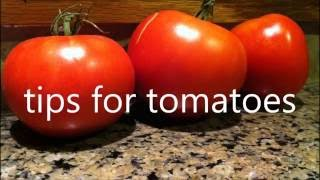 diy TIPS FOR TOMATOES